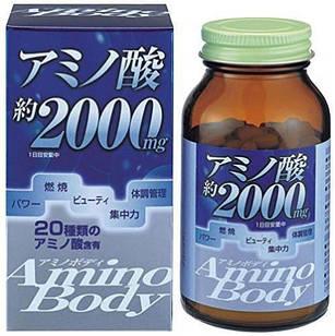 Японские ORIHIRO аминокислоты (пептиды из сои)  250 таб по 300 мг.