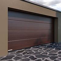 Секционные гаражные ворота KRUZIK 2750-3000 х 2380-2500мм. Эксклюзивный дизайн. Эйче Дункель