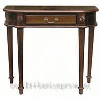 Консольный столик из массива