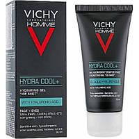 Увлажняющий гель с охлаждающим эффектом для лица и контура глаз Vichy Homme Hydra Cool+