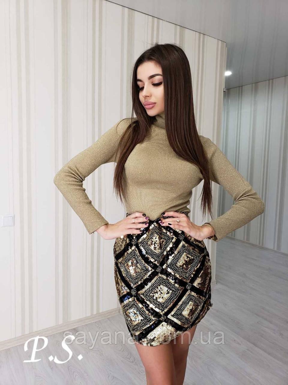 Женская нереально красивая юбка в моделях. ЮП-8-1219