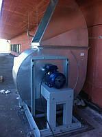 Монтаж промышленного вентилятора