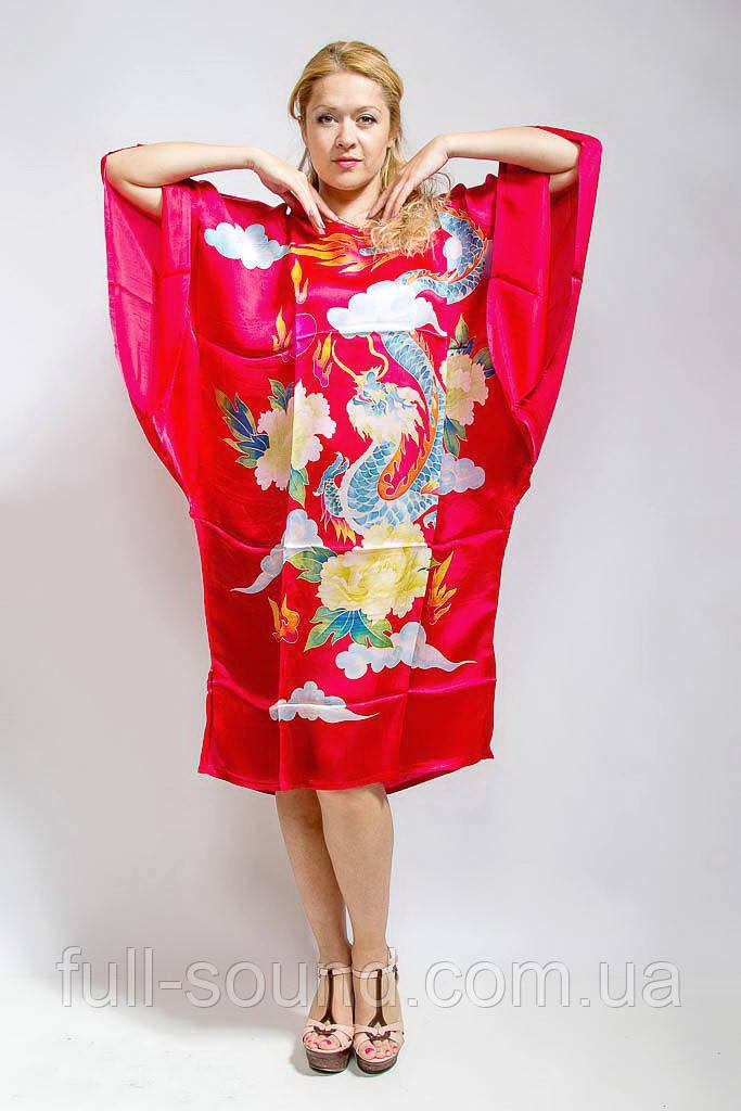Шелковое кимоно дракон