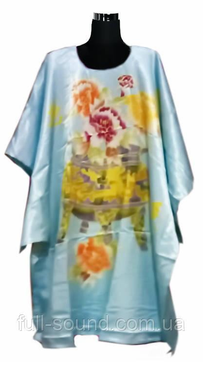Шелковое кимоно антик