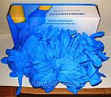 Перчатки нитриловые резиновые медицинские хозяйственные, 1 пара., фото 3