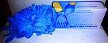 Перчатки нитриловые резиновые медицинские хозяйственные, 1 пара., фото 4