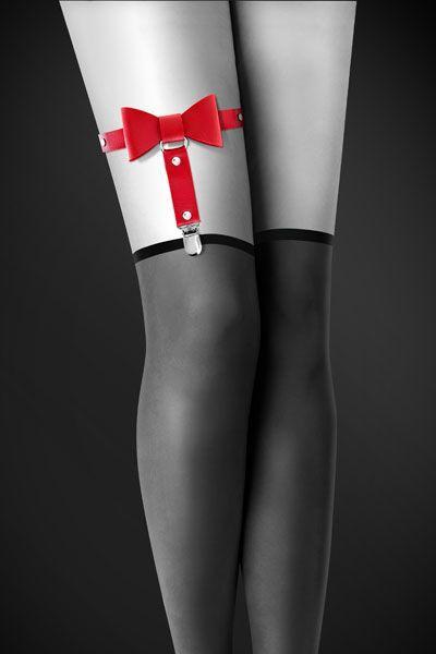 Гартер Bijoux Pour Toi - WITH BOW Red