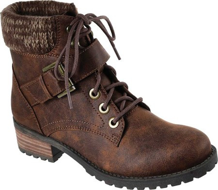 1fc97d252 Женские Ботинки Skechers Dome Ankle Boot Brown — в Категории ...