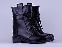 Женский кожаный ботинок