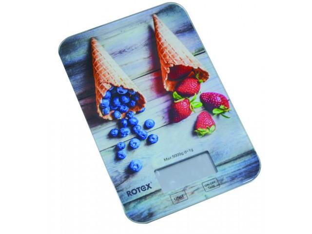Весы кухонные Rotex RSK 14-P  Berry