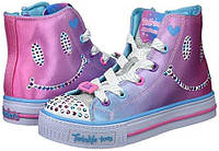 Светящиеся кеды Skechers Twinkle Toes, размер 12,5