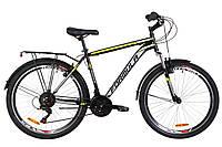 """Городской дорожный велосипед 26"""" Formula MAGNUM AM 14G Vbr St с багажником зад St, 2019 (черно-желтый)"""