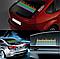 Эквалайзер на стекло авто, линейный, прозрачная подложка 80*16!, фото 4