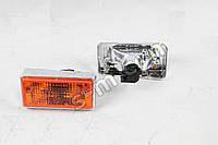 Підфарник ВАЗ 21011 (1шт ліва + 1шт права) жовте скло, корпус хром (виробництво Формула світла)