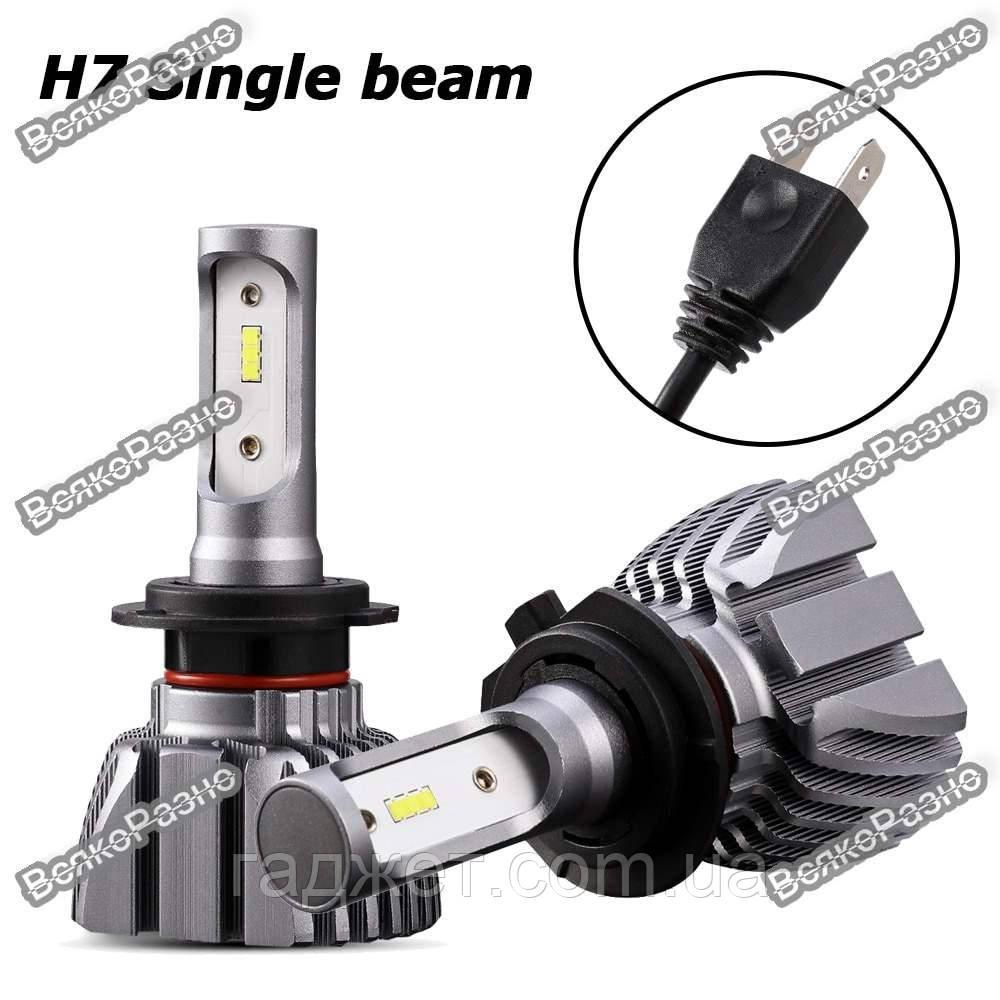 Автомобильные светодиодные лампы дальнего и ближнего света Oslamp H7