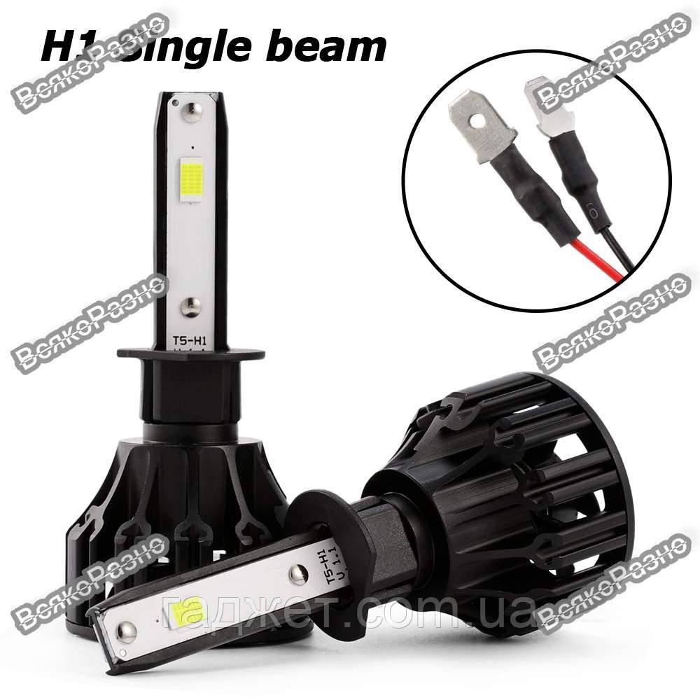 Автомобильные светодиодные лампы дальнего и ближнего света Oslamp H1