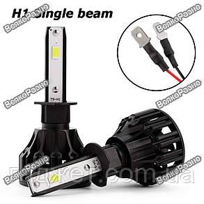 Автомобильные светодиодные лампы дальнего и ближнего света Oslamp H1, фото 2