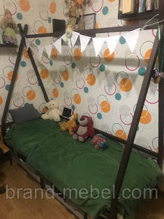 LNK Детская кроватка Индейская