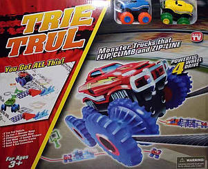 Конструктор Детский Машинка Trix Trux Монстр Трак на 2 машинки