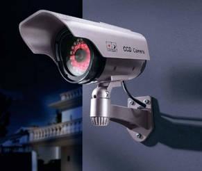 Видеокамера муляж, камера обманка DUMMY IR CAMERA 2022-1, фото 2