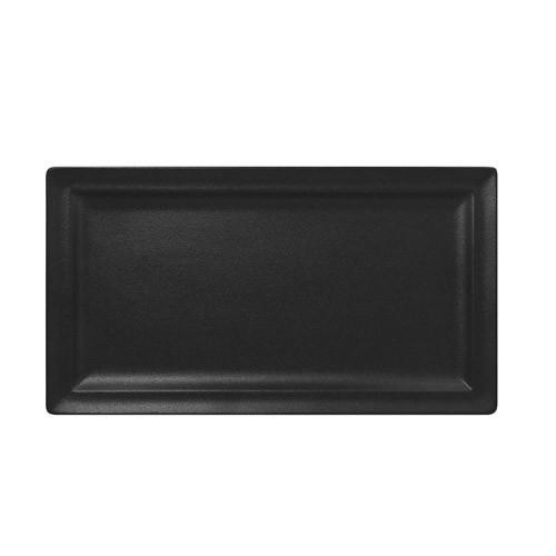 RAK NFCLRP38BK Тарелка плоская прямоугольная, цвет черный, 38мм ширина 21мм Neo Fusion