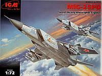 Сборная модель: Тяжелый истребитель-перехватчик МиГ-25ПД (ICM72171)