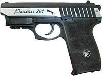 Пистолет пневматический Borner Panther 801 Blowback. Корпус - металл/пластик