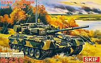 Сборная модель: Командирский танк Т-80 УДК (MK226), фото 1