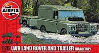 Сборная модель: Автомобиль LWB Land Rover с прицепом (AIR02324), фото 1