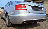 Накладка задняя Audi A6(C6) стиль RS6