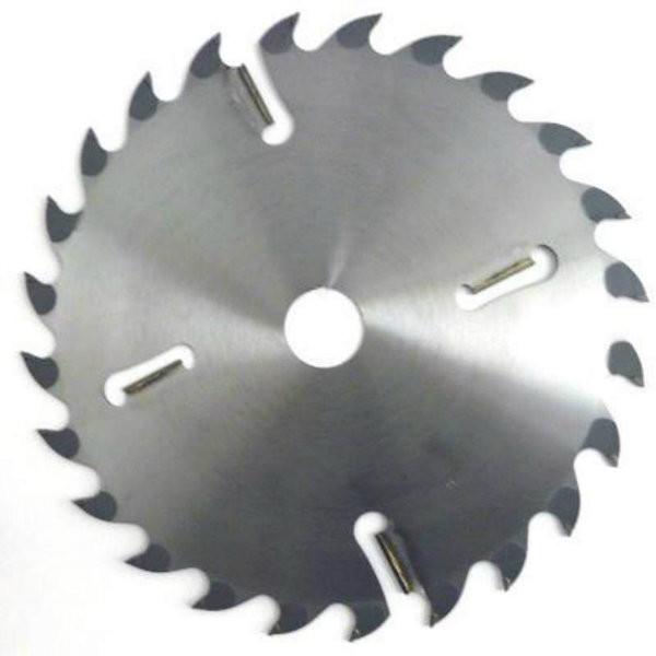 Диск пильный по дереву  с твердосплавными напайками и подрезными ножами Schans 450х32х4,3мм; 18+6 зубьев