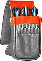 Target Чехол Daytona кожаные оранжево-серые (125750)
