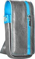 Target Чехол Daytona кожаные серо-синие(125755)