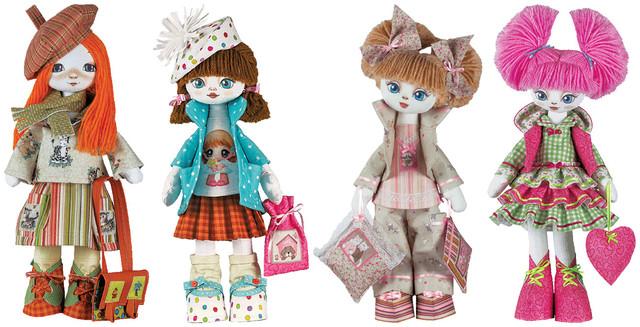 Набори для шиття іграшок