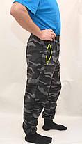 Брюки спортивные камуфляжные зимние под манжет с карманами на молнии, фото 2