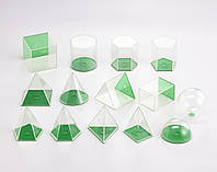 Набор прозрачных геометрических форм Edx Education 21335
