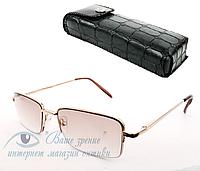 Очки для зрения с диоптриями +/- Код:2059.