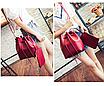 Сумка женская через плечо в наборе кошелек Suzy Красный, фото 3