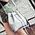 Сумка женская через плечо в наборе кошелек Suzy Серый, фото 3