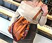 Сумка женская через плечо в наборе кошелек Suzy Коричневый, фото 3