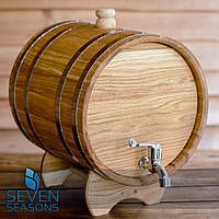 Бочка дубовая (жбан) для напитков Seven Seasons™, 60 литров
