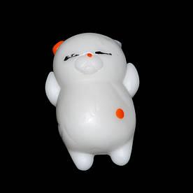 "Игрушка антистресс Squishy Сквиши ""Котик"" белый"