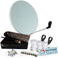 С Т2 + Wi-Fi комплект спутникового ТВ «Комбинированный»
