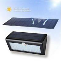 Водонепроницаемый светильник с датчиком движения на солнечной панели (30LED), фото 1