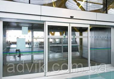 Автоматические раздвижные двери Geze Powerdrive PL (Германия)*