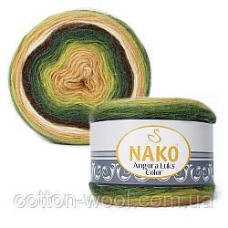 Nako Angora Luks Color (Ангора Люкс Колор) (80% - акрил, 5% - мохер, 15% - шерсть) 81905