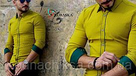 Рубашка мужская длинный рукав Rubaska