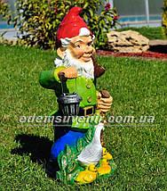 Садова фігура Гноми великі з ліхтарями, фото 3