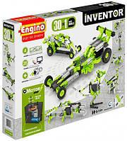 Конструктор Engino Inventor 30 в 1, з електродвигуном, для розвитку дітей