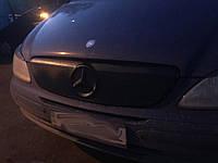 Зимняя накладка на Mercedes Vito-Viano 2010-14 (2спицы) Решетка FLY Мат